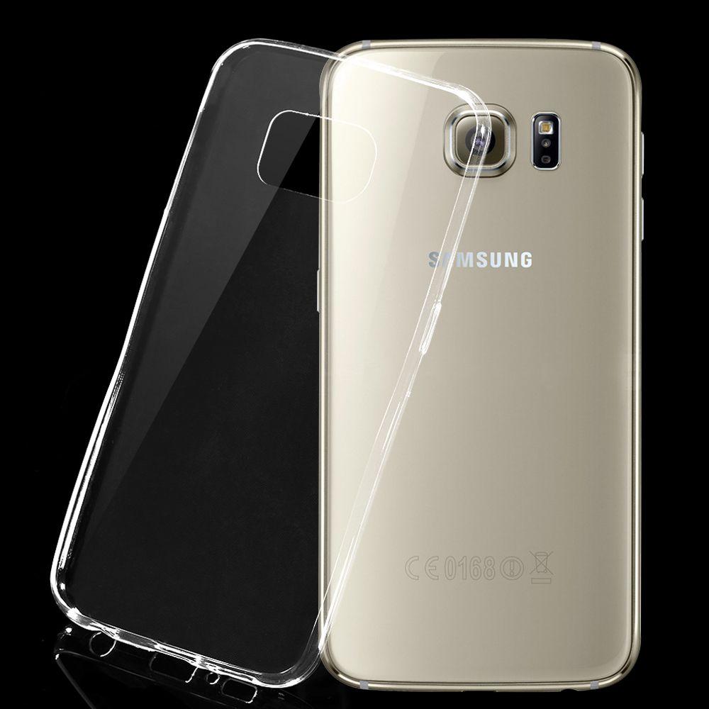 Тонкий силиконовый чехол для Samsung Galaxy s6