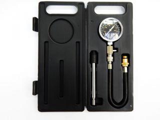 Индикатор компрессии бензиновый с дл. наконечником и шлангом в кейсе