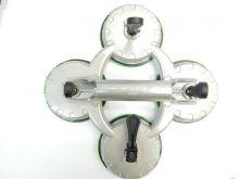 Съемник стекол четырехзажимной (присоска) диам. 123мм-120кг (алюм.)