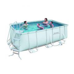 Каркасный прямоугольный бассейн Bestway 56456 (412х201х122) с картр. фильтром