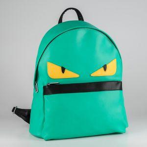 Рюкзак женский 1512910; экокожа; зеленый