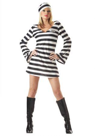 Зротический костюм заключенной
