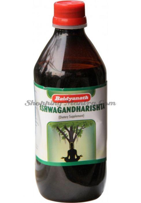 Ашвагандаришта лекарственная настойка для нервной системы Байдьянатх/Ashwagandharishta Baidyanath