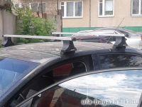 Багажник на крышу Volkswagen Passat B5.5 (B5 Plus), Атлант, прямоугольные дуги