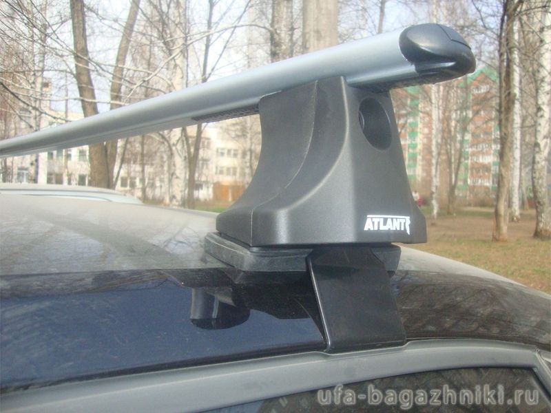 Багажник на крышу Volkswagen Passat B5.5 (B5 Plus), Атлант, аэродинамические дуги