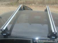 Багажник на крышу Volkswagen Passat B4, Атлант, аэродинамические дуги