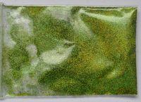 Зеркальная пыль (глиттер, втирка) для дизайна ногтей «Салатовый» №13 (3 грамма)