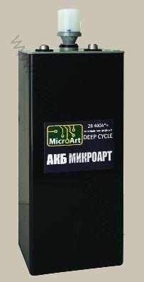 Аккумулятор тяговый панцирный 2В 400А*ч (глубокого разряда)