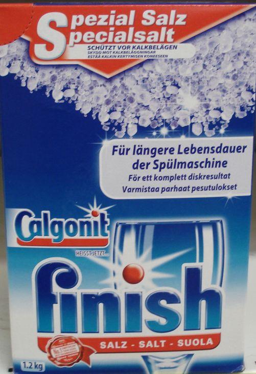 FINISH соль для посудомоечных машин 1,2 кг
