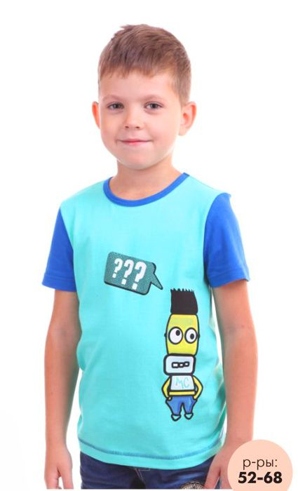 Бирюзовая футболка Симпсон