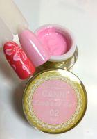 Гель-паста 3D Emboss Gel CANNI 002 (нежно-розовый), 8 мл.