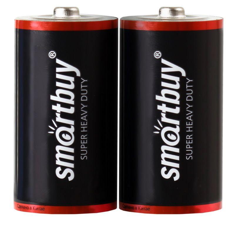 Батарейка LR 14 солевая Smartbuy R14/2S