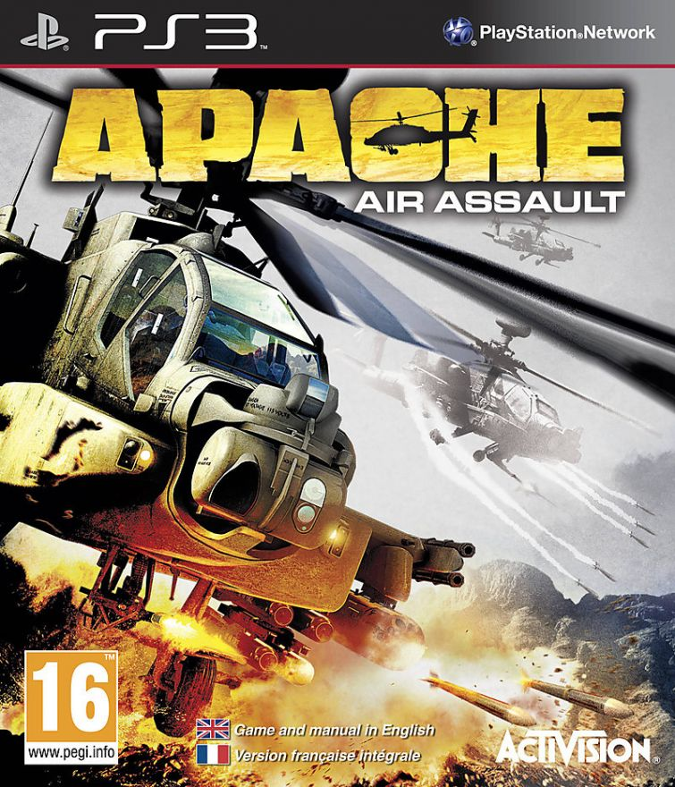 Игра Apache Air Assault (PS3)