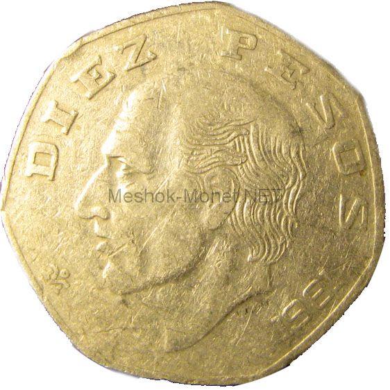 Мексика 10 песо 1978 г.