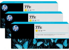 HP B6Y10A оригинальный Картридж №771, CE040A , Yellow (775ml)