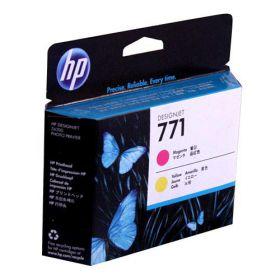 HP CE018A Оригинальная печатающая головка пурпурная и желтая, №771