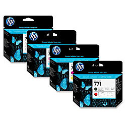 HP CE019A Оригинальная печатающая головка светло-голубая и светло-пурпурная, №771