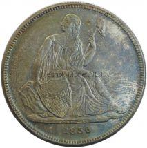 Копия 1 доллар Гобрехта 1836 год