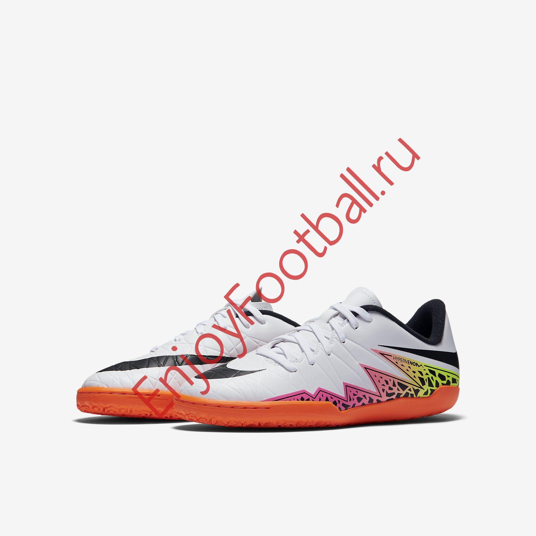 quality design 1e052 29c0f Детская обувь для зала NIKE HYPERVENOM PHELON II IC 749920-108 JR