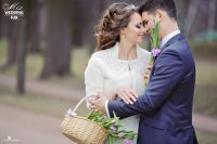 Свадебные шубки из меха в прокате москва фото