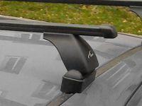 Багажник на крышу Peugeot 308, Lux, прямоугольные стальные дуги