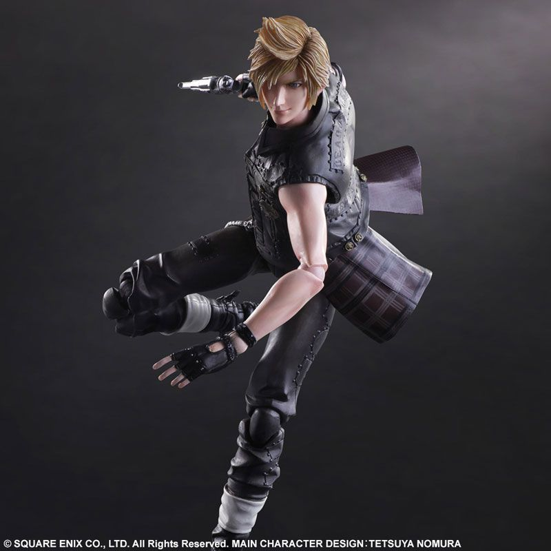 Фигурка Final Fantasy XV Play Arts Kai Prompto