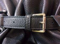 Bufalo BP-01BR коричневый кожаный рюкзак-мешок
