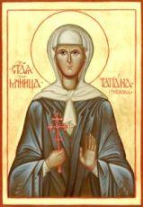 Икона Татьяна Грибкова (рукописная)