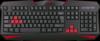 Проводная игровая клавиатура Xenica RU,черный,начального уровня