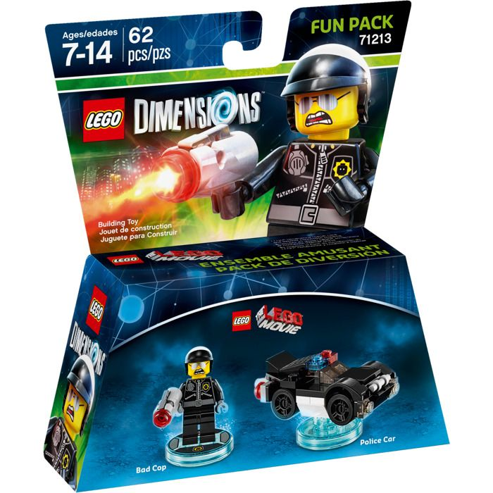 Lego Dimensions 71213 Bad Cop (серия Lego Movie)