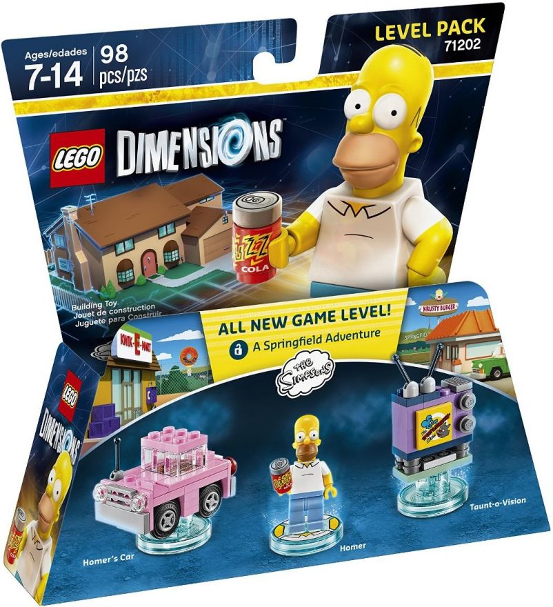 Lego Dimensions 71202 Level Pack: The Simpsons (Симпсоны)