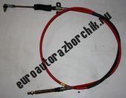 Трос переключения передач КПП Faw 1041/1051 (красный верхний)