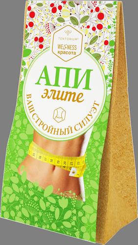 """Зелёный чай с растительными экстрактами """"АпиЭлите"""", 100г"""