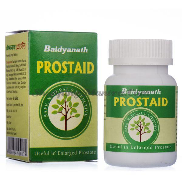 Простаид против увеличения простаты Байдьянатх / Baidyanath Prostaid Tablets