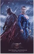 Автографы: Генри Кавилл, Бен Аффлек. Бэтмен против Супермена: На заре справедливости