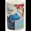 Forest Полотенца бумажные, 1 рулон 350 листов (Clean Goliat) 22х20см (двухслойные, целлюлоза)