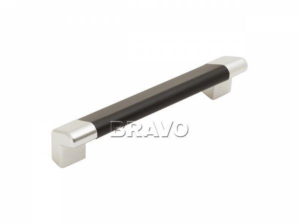 Ручка скоба С-16 (96) венге/хром