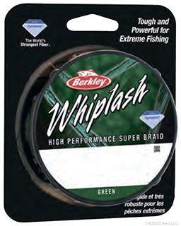 Леска плетеная Berkley Whiplash Pro зеленая 110м  - купить со скидкой