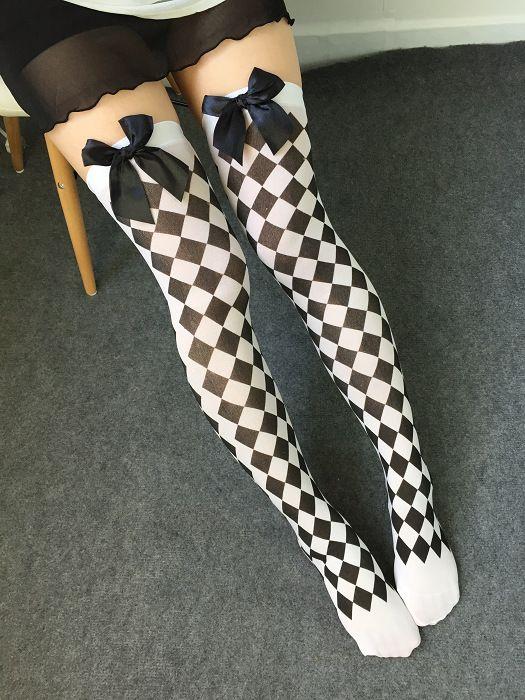 Чулки Black & White