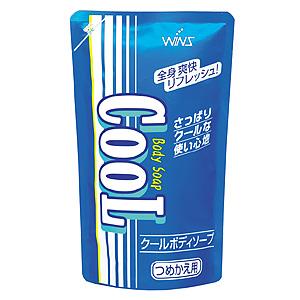 Охлаждающее мыло для тела Wins Cool body soap с ментолом и ароматом мяты для мужчин и женщин (мягкая упаковка)