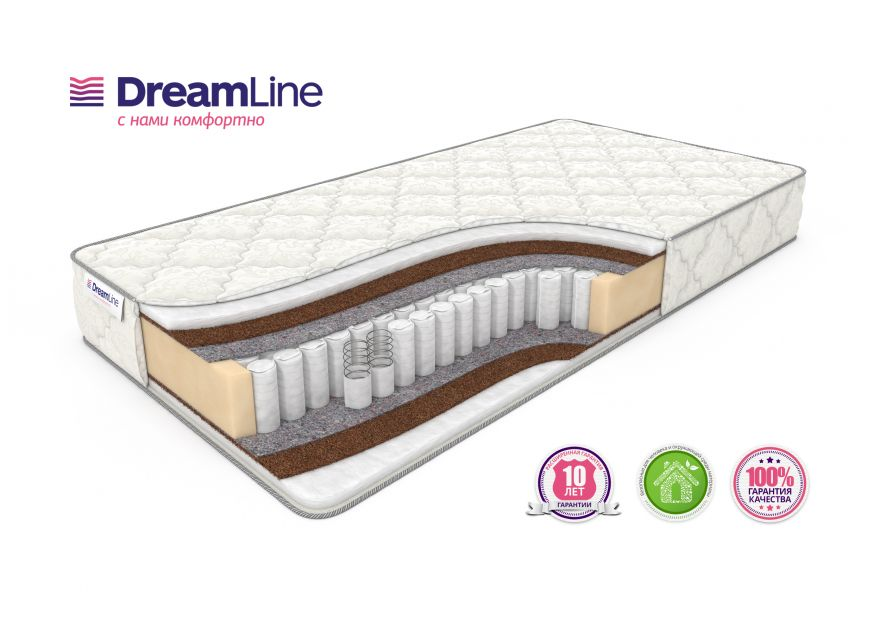 Матрас Eco Foam Hard TFK | DreamLine