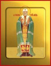 Икона Тихон Московский (рукописная)