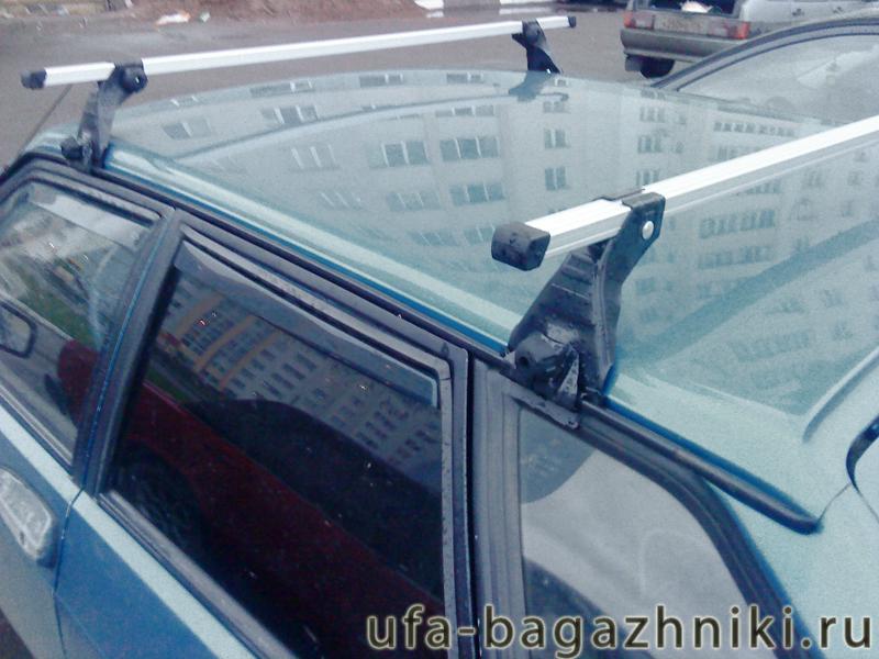 Багажник на крышу на ВАЗ 2108-21099 (Атлант, Россия) - алюминиевые дуги