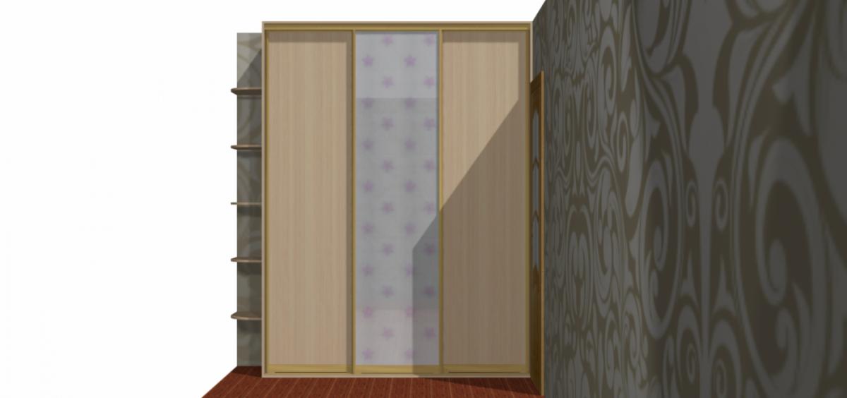 Встроенный шкаф купе на  Рассветной