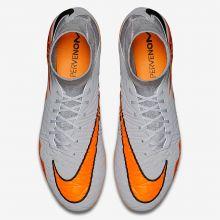 Бутсы Nike Hypervenom Phatal II DF FG серые