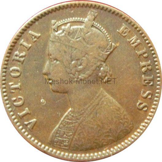 Индия 1/4 анны 1883 г.