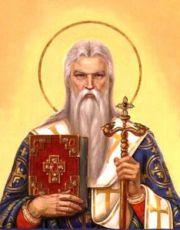 Икона Ипатий Гангрский (рукописная)