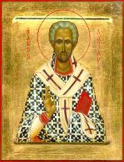 Лазарь Четверодневный (рукописная икона)
