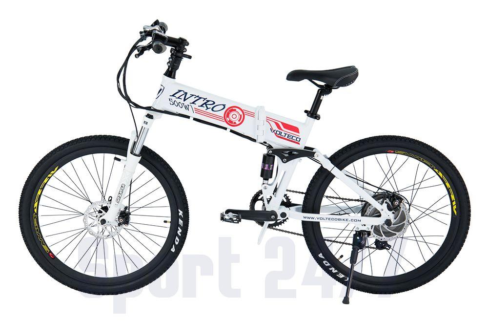 Электровелосипед Велогибрид INTRO 500 (111-07)