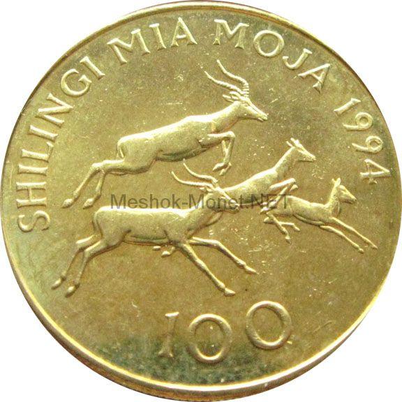 Танзания 100 шиллингов 2012 г.